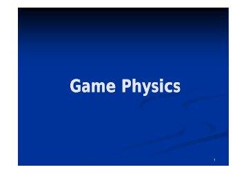 Game Physics
