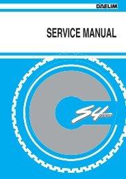 Daelim S4 50cc Service Manual - Mojo