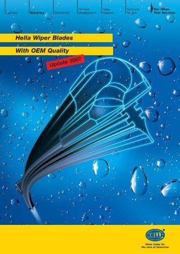 Hella Wiper Blades With OEM Quality - Renoks