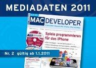 MEDIADATEN 2011 - web & mobile Developer