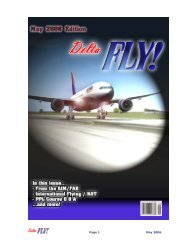 May 2006 - Delta Virtual Airlines
