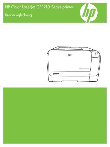HP Color LaserJet CP1210 Series Printer User Guide - DAWW