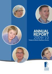 annual report - South West Alliance of Rural Health