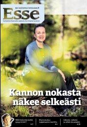 Esse 33/2013 (pdf) - Espoon seurakuntasanomat