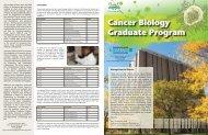 Cancer Biology Graduate Program - School of Medicine - Wayne ...