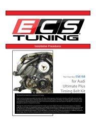 for Audi Ultimate Plus Timing Belt Kit
