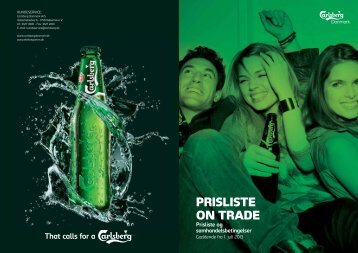 PRISLISTE ON TRADE - Carlsberg