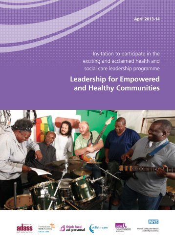 Leadership for Empowered and Healthy Communities - Skills for Care