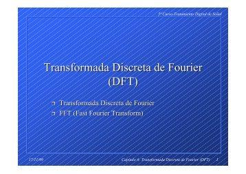 Transformada Discreta de Fourier (DFT) - Tecnun