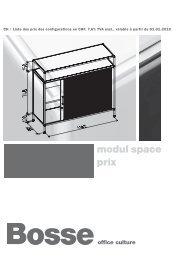 modul space prix