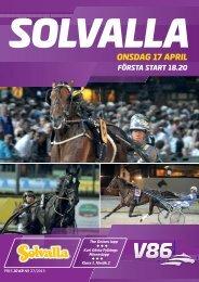 ONSDAG 17 APRIL - Solvalla
