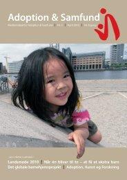 2010 - Adoption og Samfund
