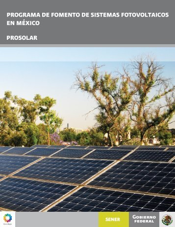 Programa de Fomento de Sistemas Fotovoltaicos en México