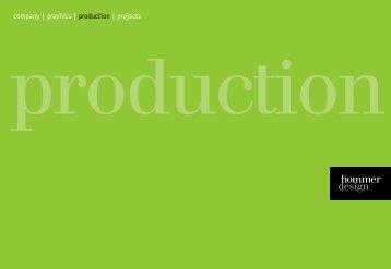 Production - Hommerdesign