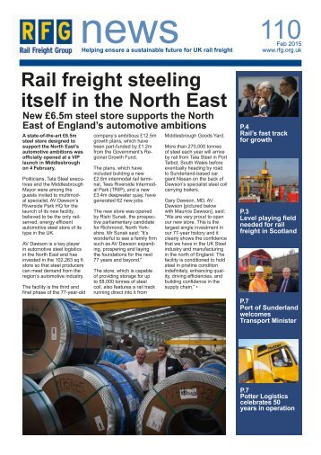 RFG News February 2015 - Issue 110