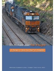 Rail Freight Task Force - Final Report (7737 kb) - City of Mitcham
