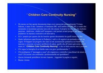 """"""" Children Care Continuity Nursing"""""""