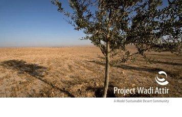 Project Wadi Attir - The Sustainability Laboratory