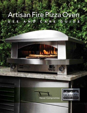 Artisan Fire Pizza Oven - Kalamazoo Outdoor Gourmet