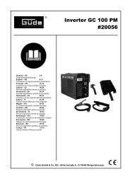 Inverter GC 100 PM #20056