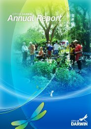 Annual Report - Darwin City Council - Northern Territory Government