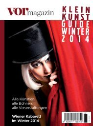GUIDE WINTER 2014 - Vormagazin