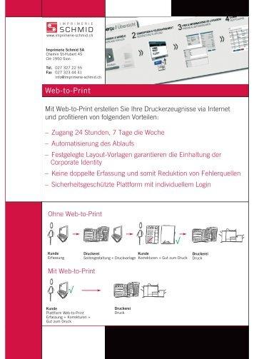 Web-to-Print √ √