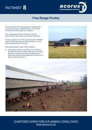 FACTSHEET - Acorus Rural Property Services