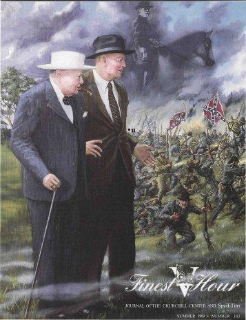 .JOURNAL OFTIIE CHURCHILL CKNTER AND ... - Winston Churchill