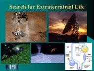 16. Search for Extraterrestrial Life