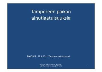 Tampere - BaltCICA