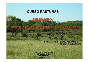 Fertilizacion Nitrog.. - Departamento de Producción Animal y Pasturas