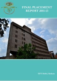 FINAL PLACEMENT REPORT 2011-13