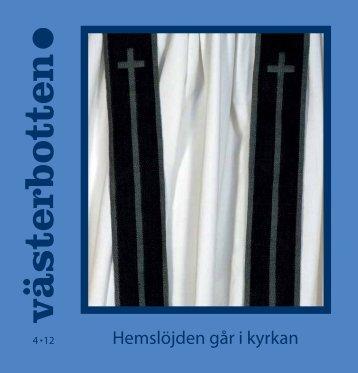 Hemslöjden går i kyrkan - Västerbottens museum