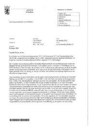 Brief van het college d.d. 30 oktober 2012 - Gemeente Schiedam