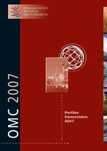 Perfiles Comerciales 2007 - Educarm