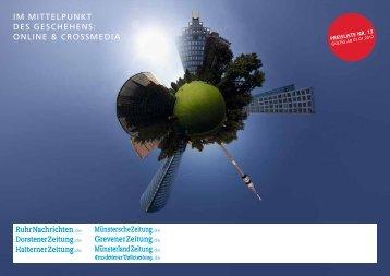 online & crossmedia - Ruhr Nachrichten