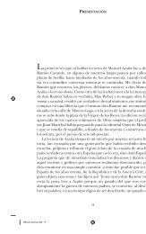 La primera vez que oí hablar en serio de Manuel Azaña fue ... - El País
