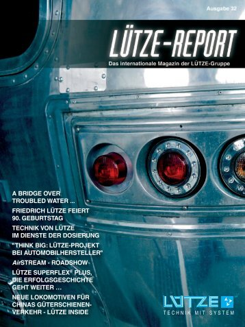 Lütze-Report 32 - Luetze.com