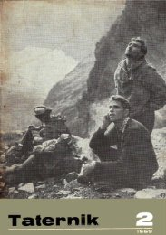 Taternik 2 1969 - Polski Związek Alpinizmu