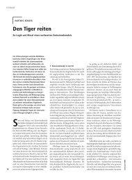 Den Tiger reiten - Hartwig Berger