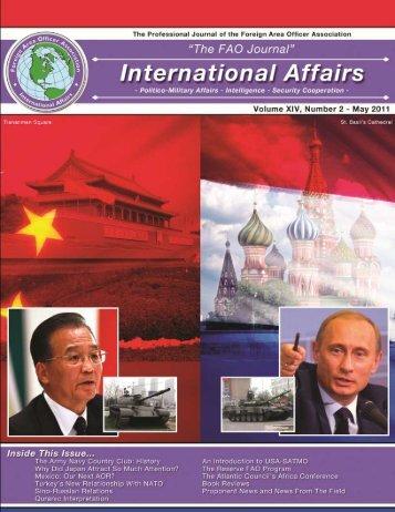 FAO Journal International Affairs - May 11.pdf - Faoa