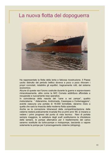Storia della flotta SNAM, 2 - associazione pionieri e veterani eni