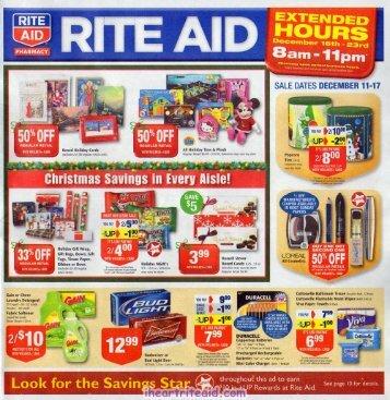 i heart rite aid: 12/11 - 12/17 ad