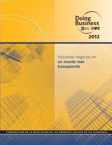 Haciendo negocios en un mundo más transparente - Doing Business