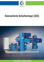 Gasisolierte Schaltanlage (GIS) - Cgglobal.com