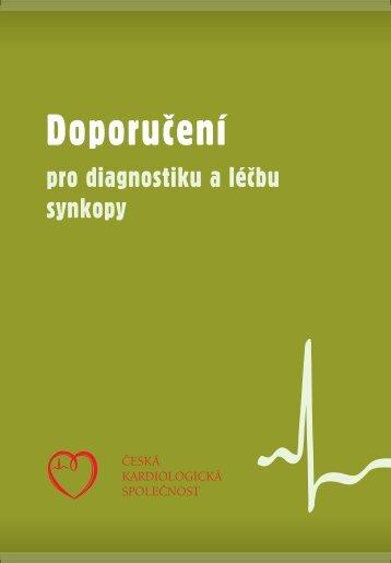 Doporučení pro diagnostiku a léčbu synkopy