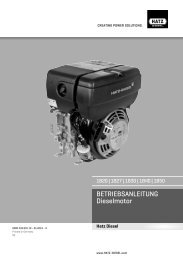 1B - de - HATZ Diesel