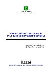 Notes du cours - LASSC - Université de Liège