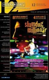 19. bis 25. märz 2009 - Thalia Kino